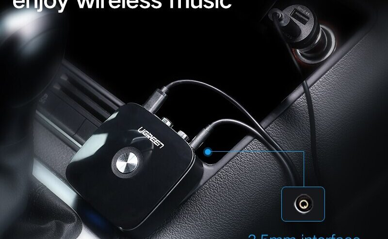 Ugreen-Wireless-Car-4-1-Bluetooth-Receiver-Adapter-3-5mm-to-2RCA-AUX-Audio-Music-Adapter